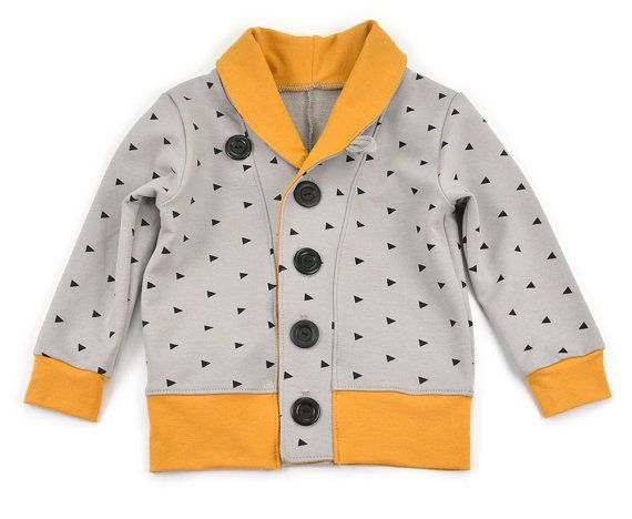 Kids cardigan sewing pattern // pdf download // 0-3M to 5-6T // #72