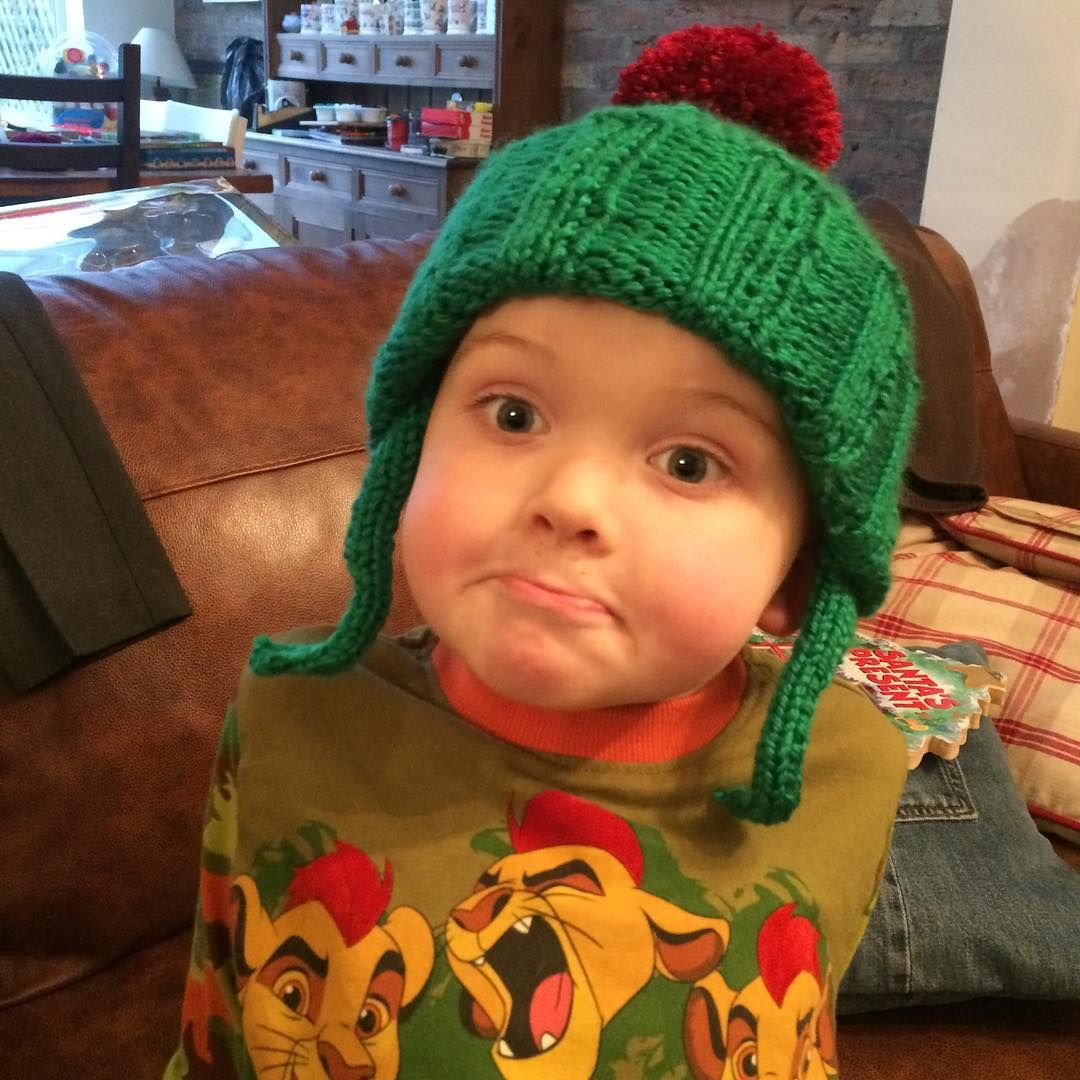 My crazy boy modelling his Benjamin Bunny hat made ready for world book day   handknithat  benjaminbunny  worldbookday  knitting  knittingaddict ... 343788337c3