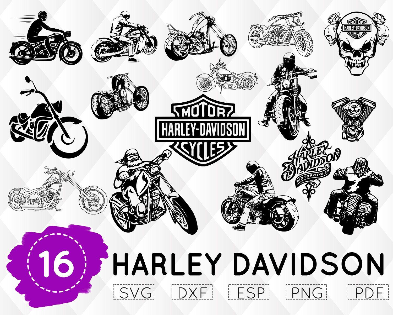 Harley Davidson Svg Motorcycle Svg Biker Svg Motorbike Svg Harley Cricut File Harley Silhouette Harley Davidson Mo Svg Silhouette Designer Edition Cricut
