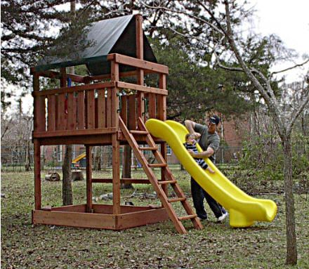 Building A Toddler Playground Sets | Backyard Fort Plans  Http://www.jacksbackyard
