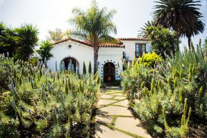 california meditteranean gardens | spanish eclectic: born in