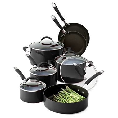KitchenAid® 12-pc. Porcelain-Enamel Cookware Set - jcpenney