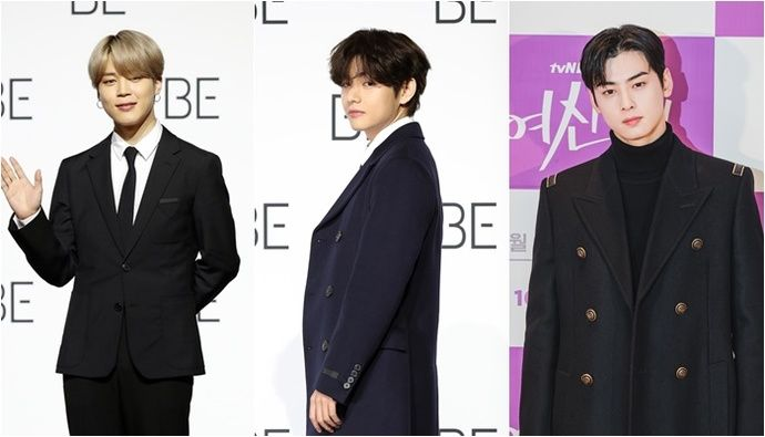 Bts Jimin Boy Group Personal Brand Reputation 1st 2nd V 3rd Cha Eun Woo Break News In 2021 Cha Eun Woo Brand Reputation Bts Jimin