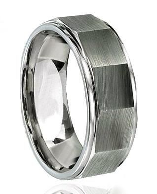 A 8mm Tungsten Carbide Ring That Sums It Up For Man The Lug