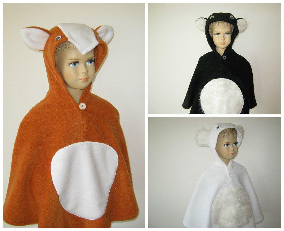 karneval fasching halloween kost m cape umhang fleece. Black Bedroom Furniture Sets. Home Design Ideas