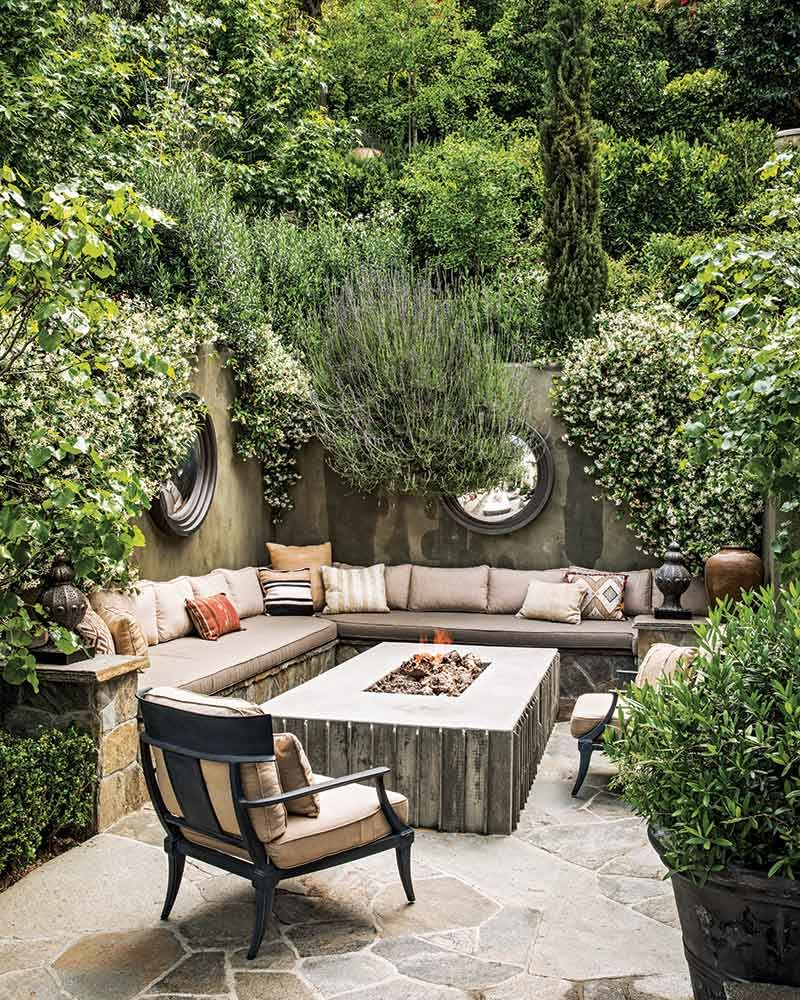 This Book Is Your One Stop Guide To The Backyard Of Your Dreams Patio Garden Design Backyard Seating Backyard Patio Designs