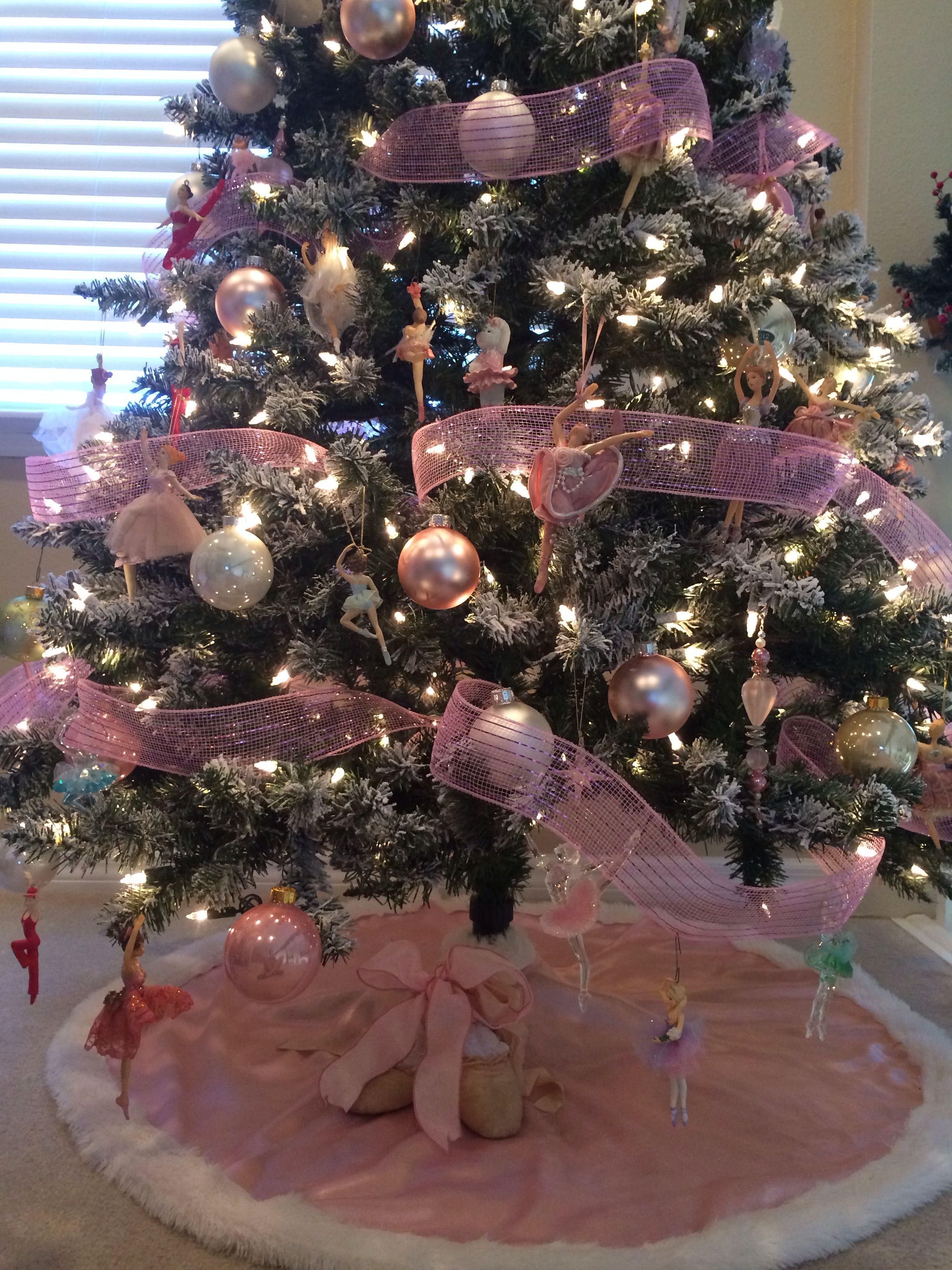Ballerina Christmas Tree Dance Christmas Tree Creative