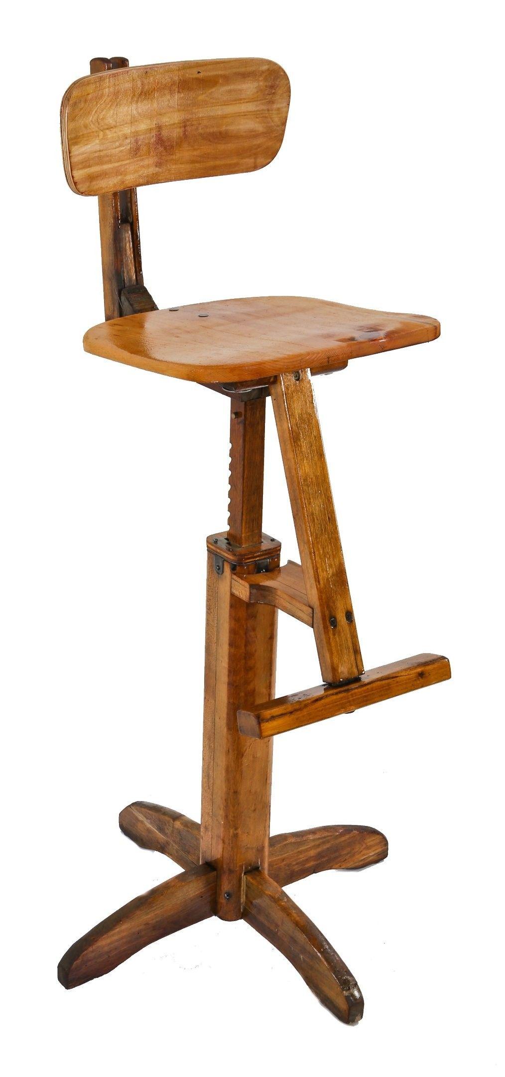 Fantastic Unique Odd Original C 1930S Patented American Vintage Lamtechconsult Wood Chair Design Ideas Lamtechconsultcom