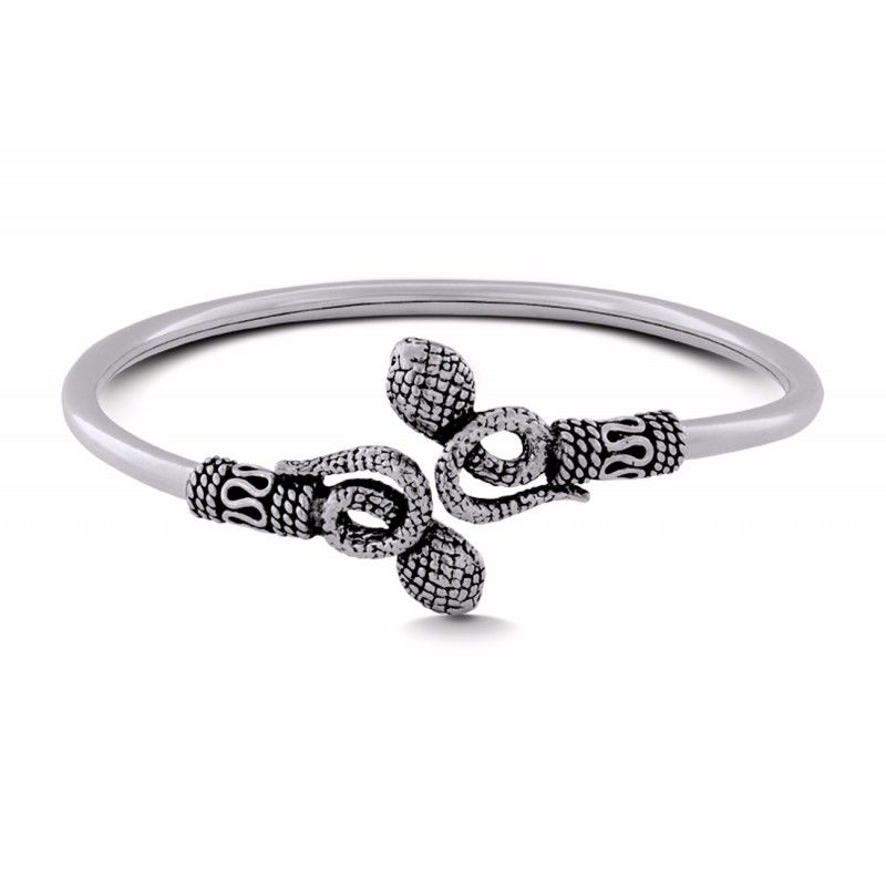 bc0ac1657b9 This beautiful piece ends with two stylised snake head terminals mounted in sterling  silver #sterlingsilver #silver #silverjewellery #ahilyajewels #ahilya ...