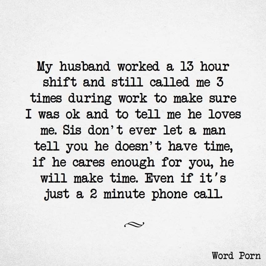 Says he me never my husband loves 5 Dangerous