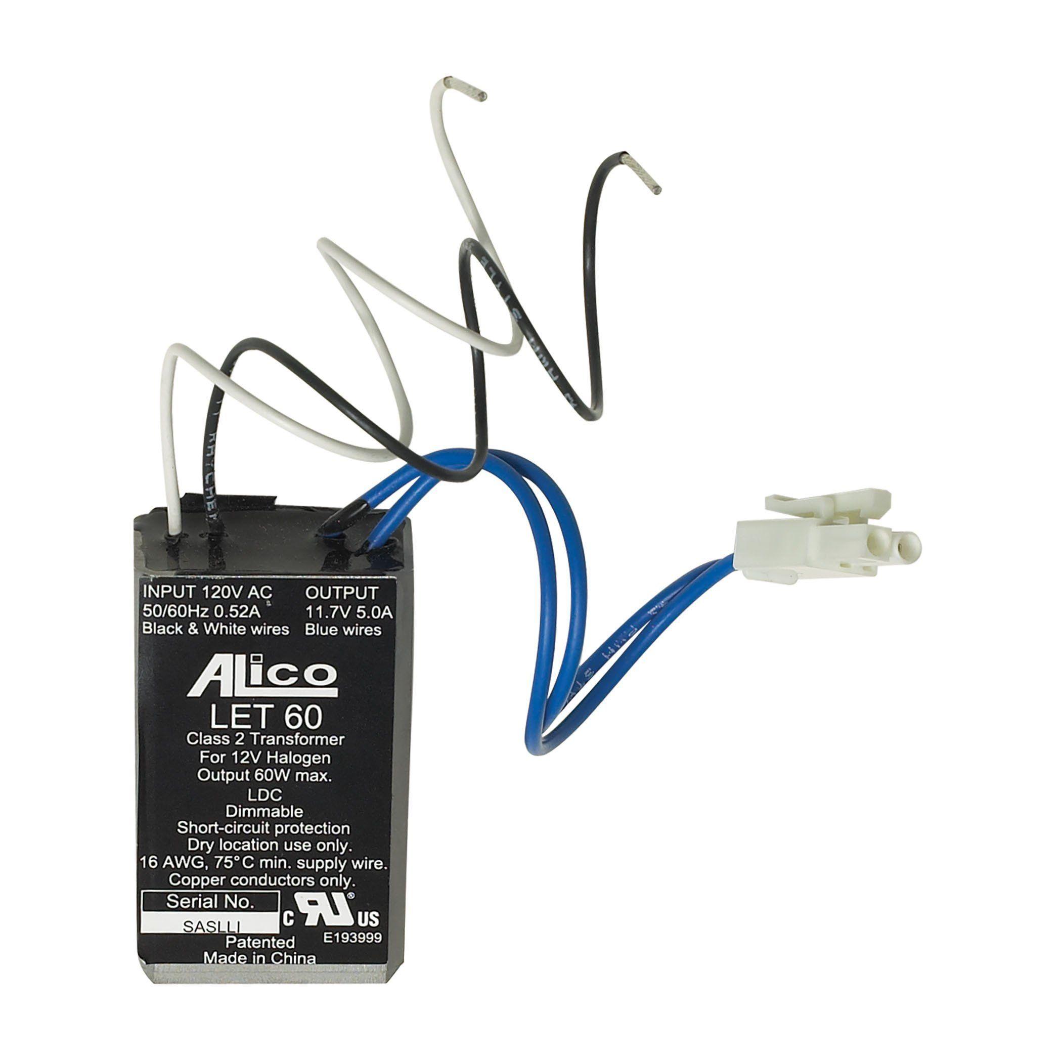 Alico T4c 60va 120 12v Solid State Transformer With Power Jack Transformers Elk Lighting Landscape Lighting Transformer
