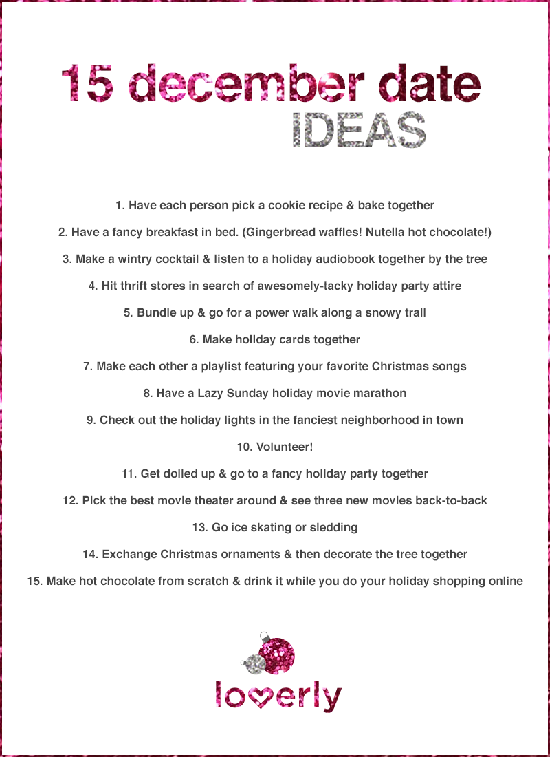 15 winter-worthy december date ideas | dating | pinterest | dating