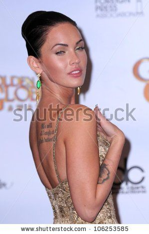 Megan Fox in the press room at the 66th Annual Golden Globe Awards. Beverly Hilton Hotel, Beverly Hills, CA. 01-11-09 by s_bukley, via Shutt...