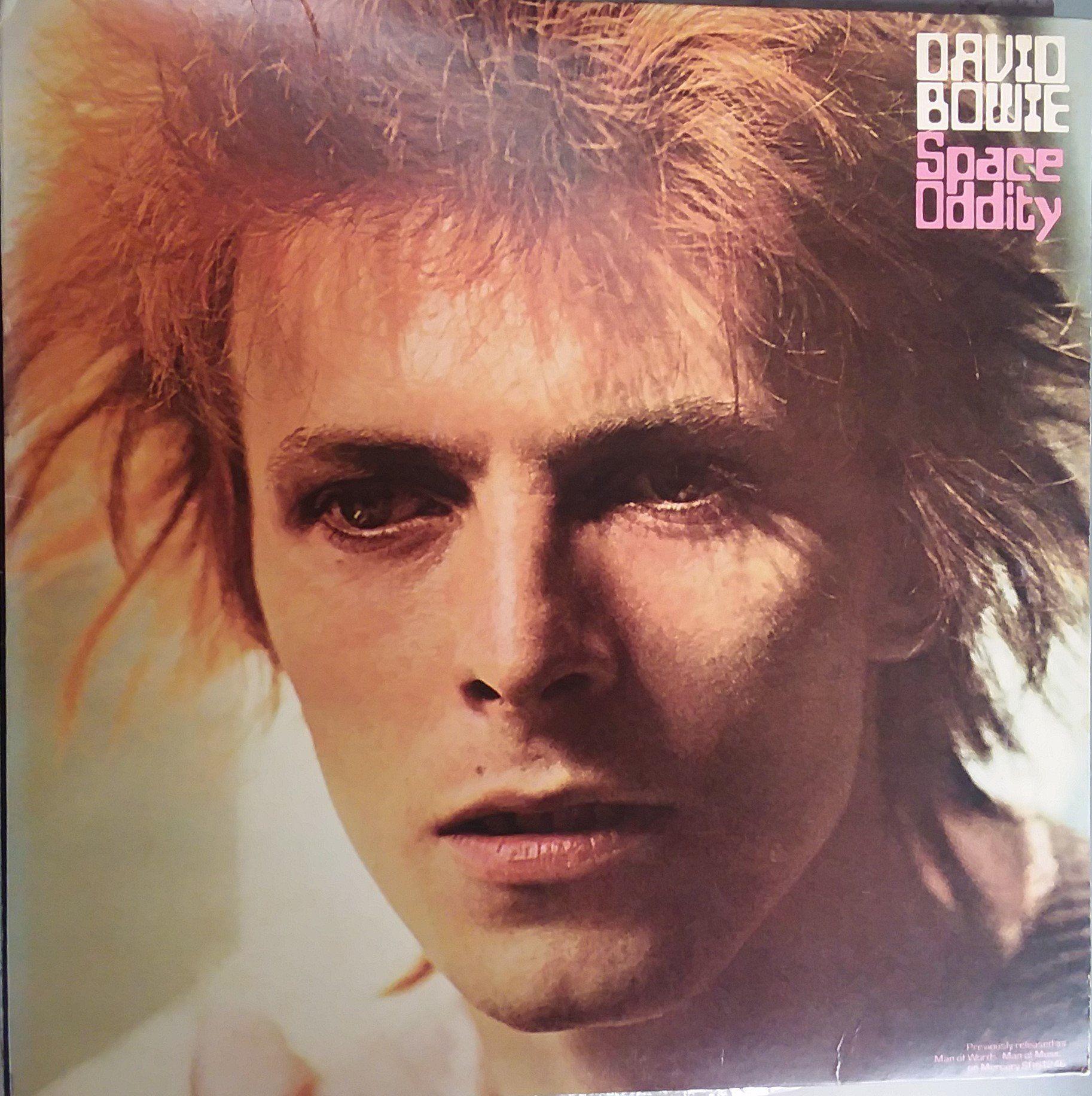 David Bowie Space Oddity Vintage Record Album Vinyl Lp Classic
