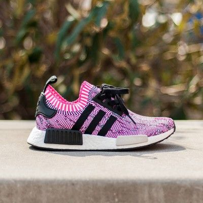 8068b167f9099 Best Womens Adidas NMD R1 Primeknit Rose Pink BB2363 Shoes