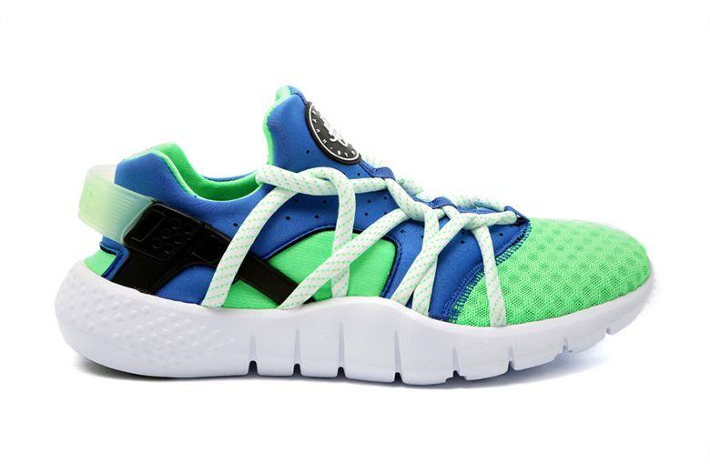 bbe66887e6df ... get nike huarache nm scream green a classic colorway on an updated  sneaker 14d9f e6b6c