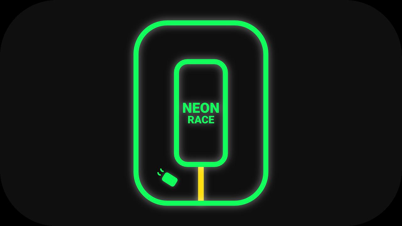 Neon Race Neon Addicting Games Yellow Line