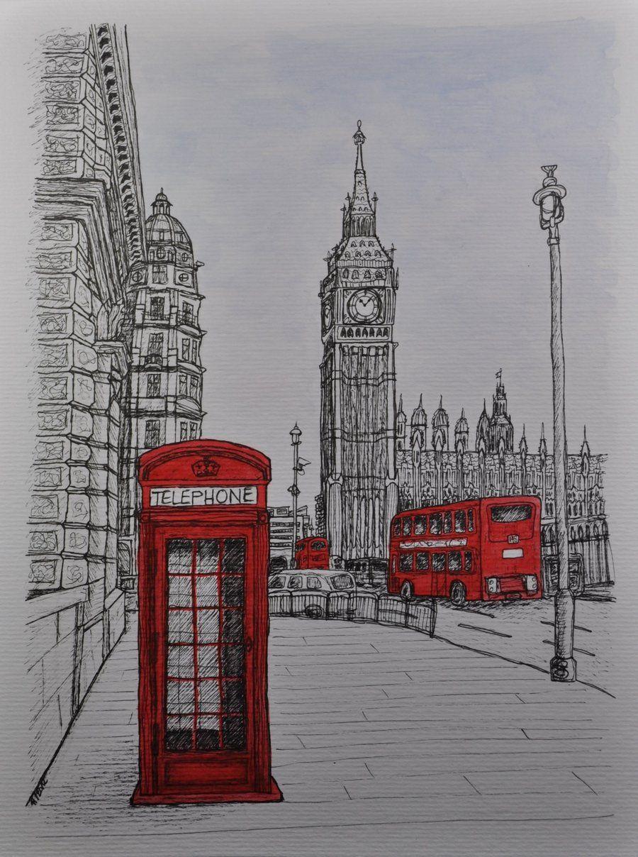 основе как нарисовать открытку великобритании будем