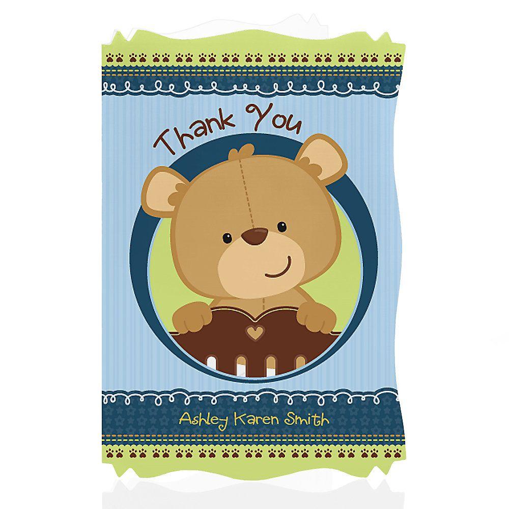 Diy Teddy Bear Baby Shower Invitations | Baby shower | Pinterest ...