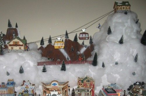 department 56 gondola ski lift department 56 pinterest ski