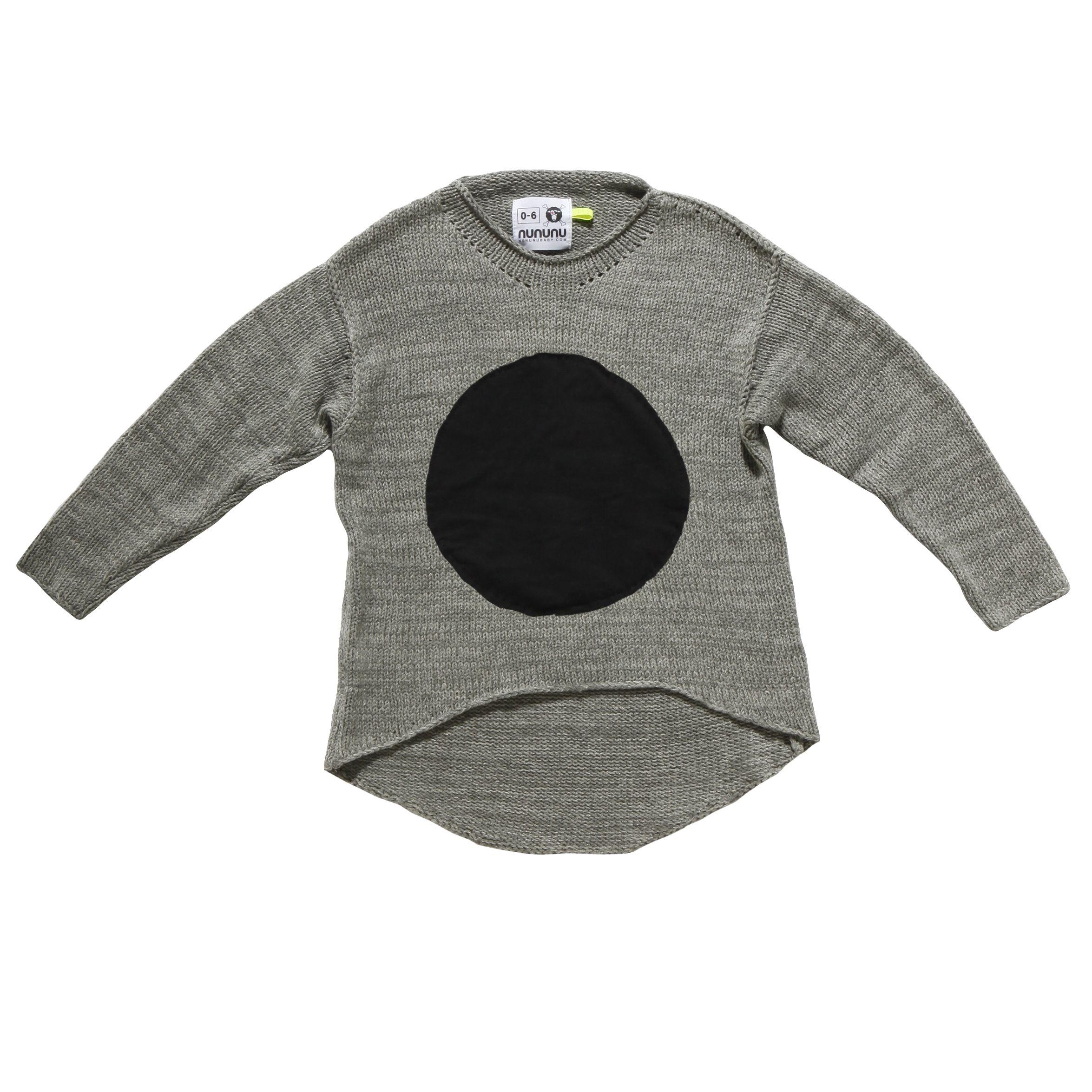 NUNUNU Patch Sweater From @I Dream Elephants