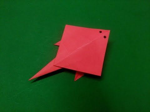 How To Make Origami Paper Fish Stingray 5 Origami Paper