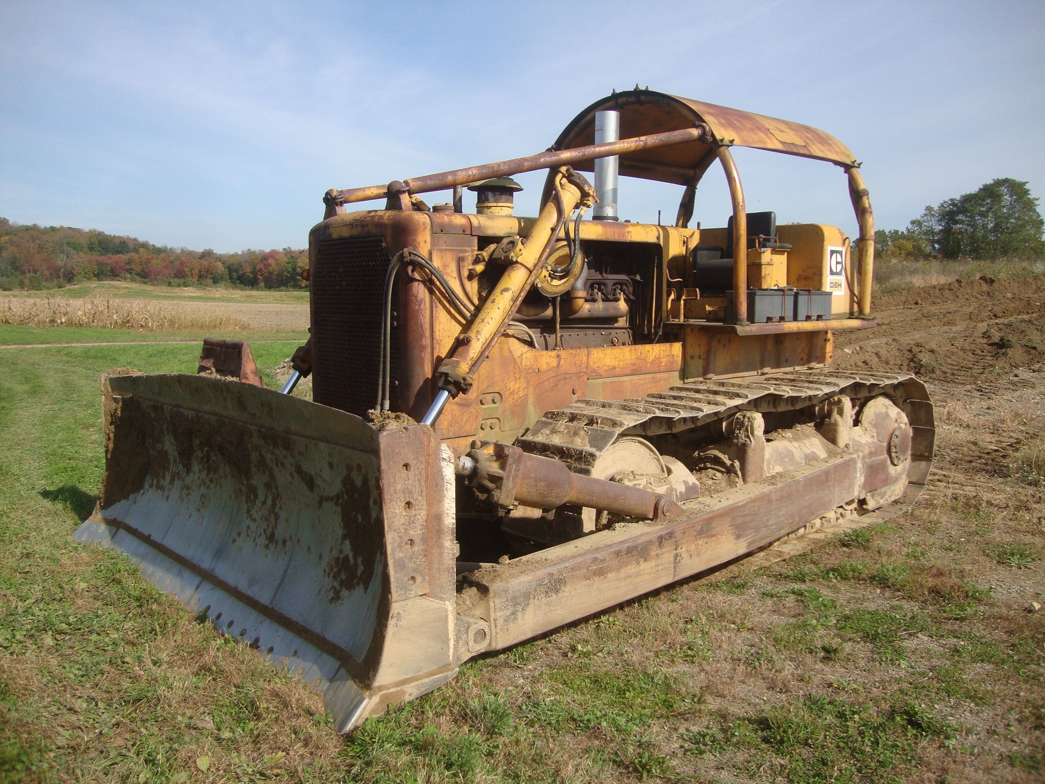 1967 Caterpillar D8H Crawler Tractor used | A Look Back in