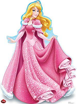 Aurora Holiday - Disney Lifesize Cardboard Cutout