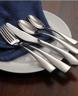 "Oneida ""Curva"" Flatware Collection - Flatware & Silverware - Dining & Entertaining - Macy's"