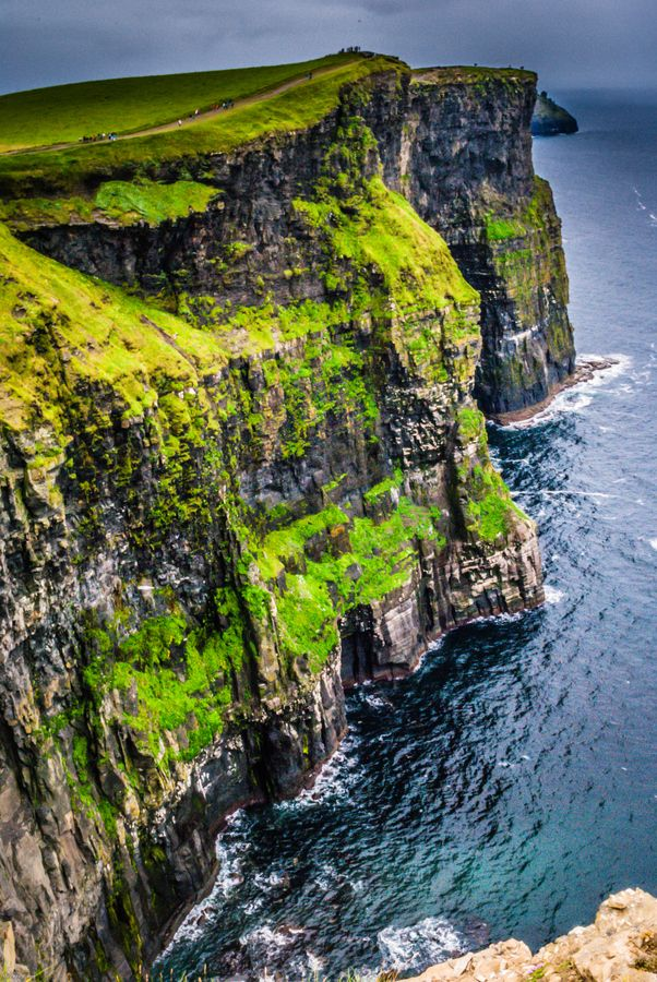 Cliffs Of Moher, Ireland  I would love to see Ireland in person some day!