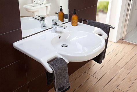 Design Kennt Keine Barrieren Behindertenbad Moderne Waschbecken Badezimmer Waschbecken