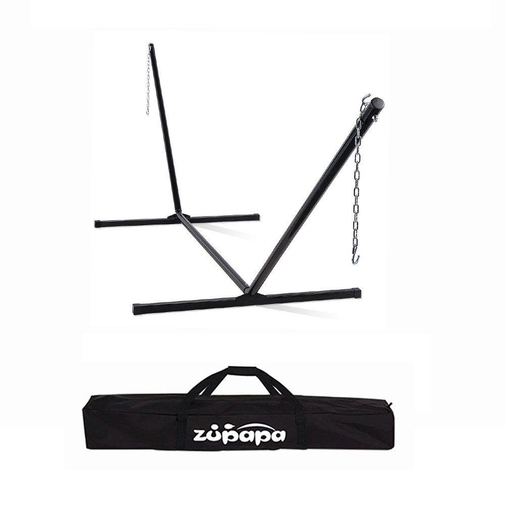 Zupapa lbs weight capacity heavy duty hammock stand steel