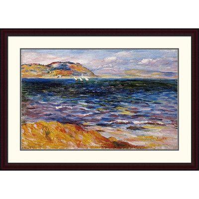 Global Gallery 'Bordighera' by Pierre-Auguste Renoir Framed Painting Print Size: