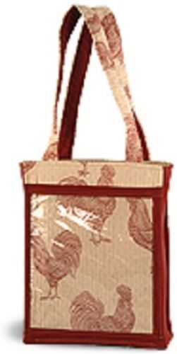 Clear Catalog Pocket Consultant Tote Bag Purse Party Plan Business Advertise New Ebay