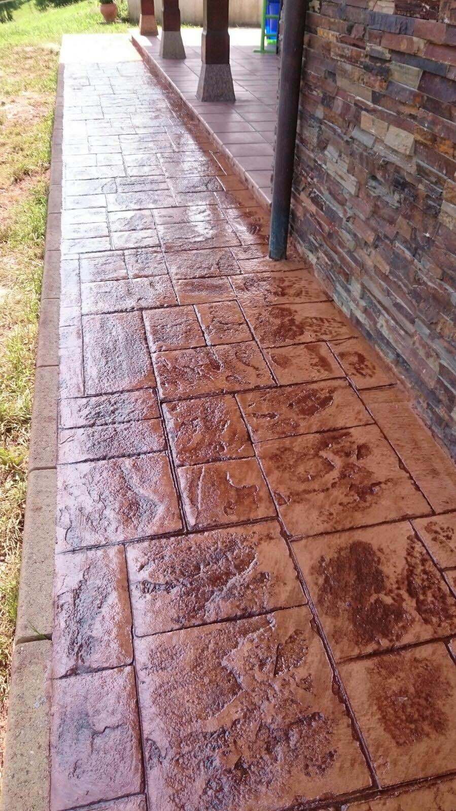 Pin de pedro ceron en kioscos pinterest pisos for Piedras para patios exteriores