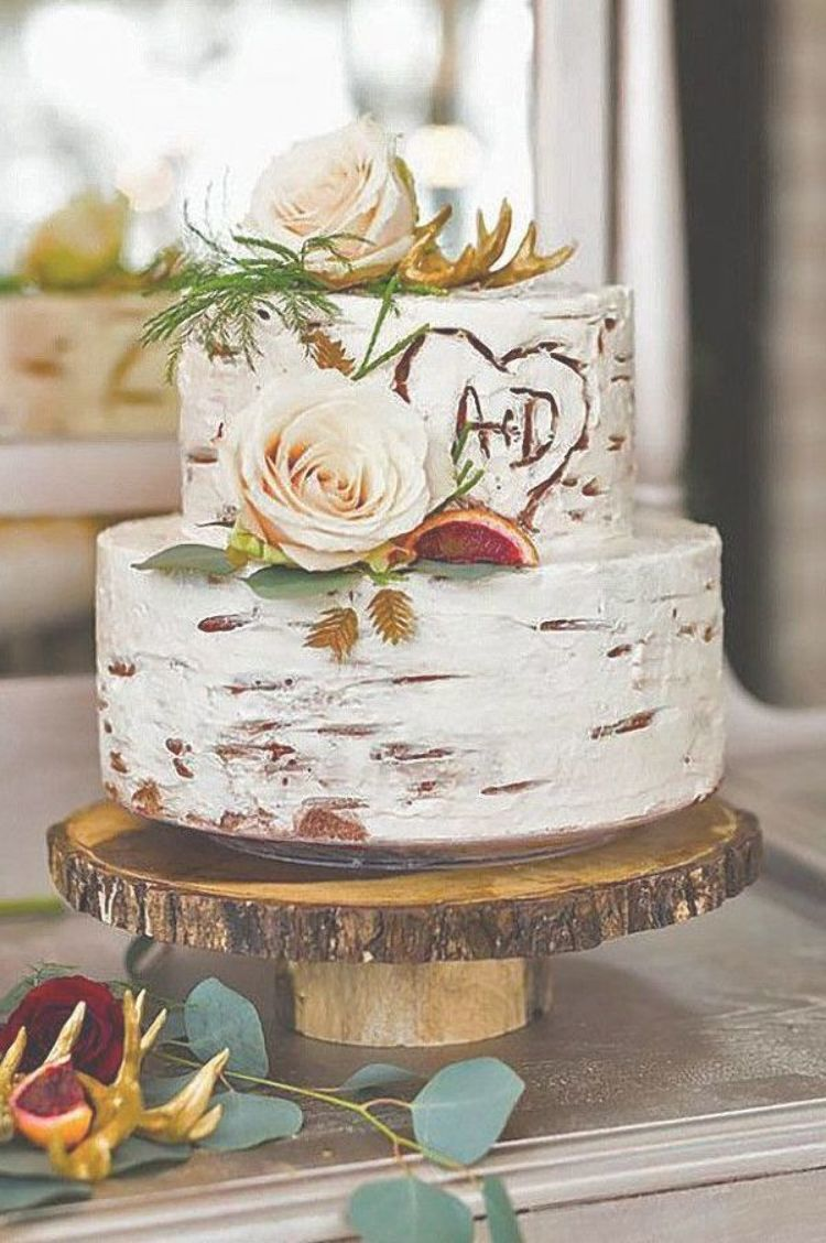 2 Tier Rustic Wedding Cakes Rustic Wedding Cakes In Your Special