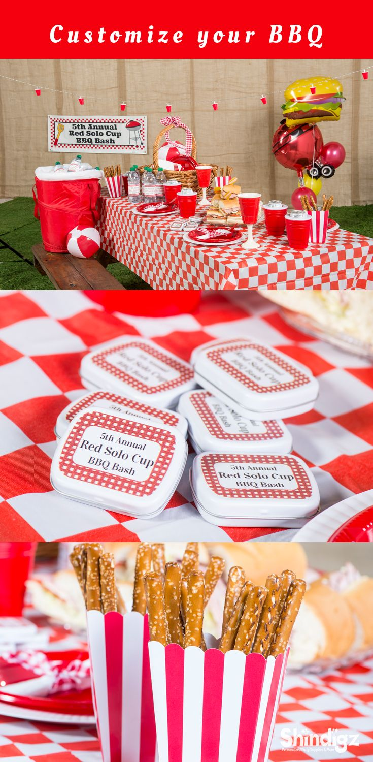 Create the ultimate summer BBQ with party supplies from Shindigz!