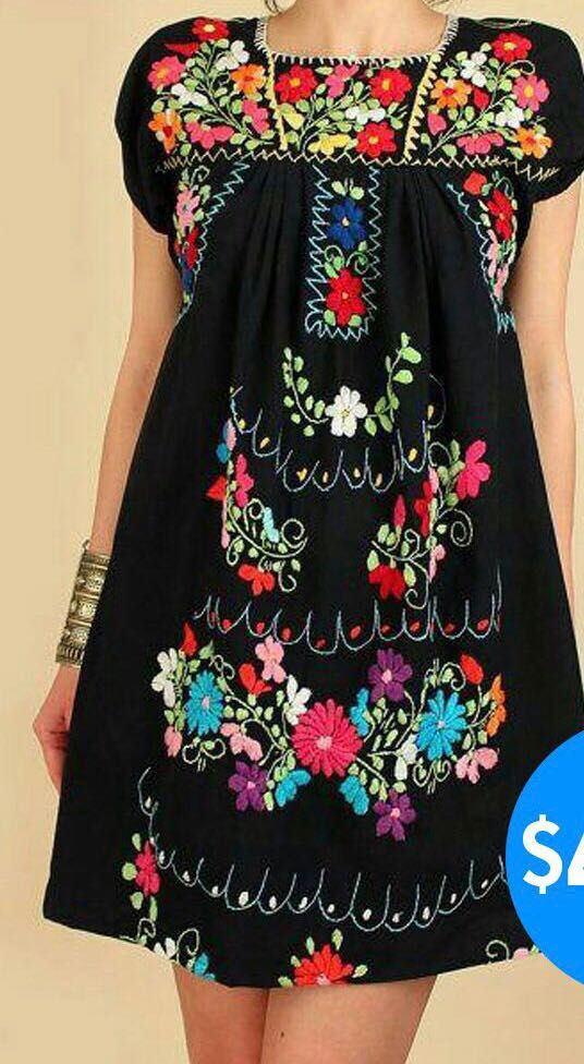 New Mexican Dresses Coming In This Week From Our One And Only So