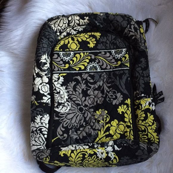 0055df1659 Shop Women s Vera Bradley Green Black size OS Backpacks at a discounted  price at Poshmark.