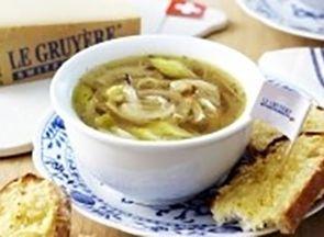 Onion and Gruyère AOP Soup | Le Gruyère AOP