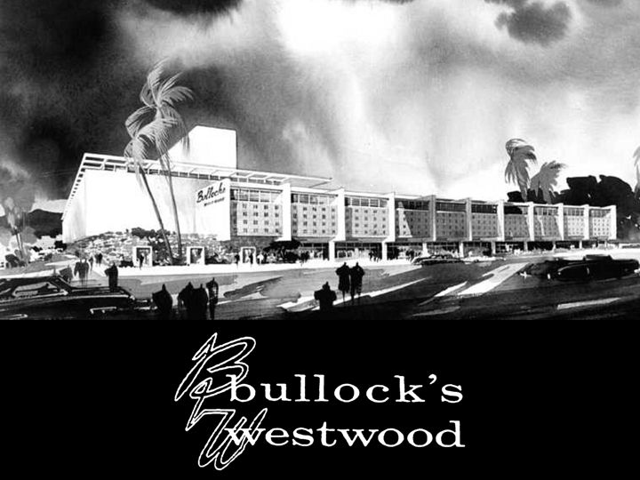 Department Store, Bullocks, Vintage Los Angeles
