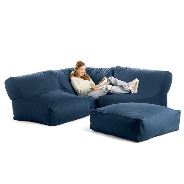 Bean Bag Sectional Sofa