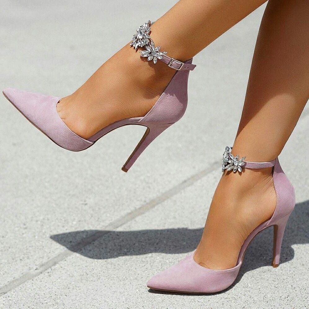 Purple Stiletto Shoes Pumps Heels Stilettos Trending Shoes Sandals Heels
