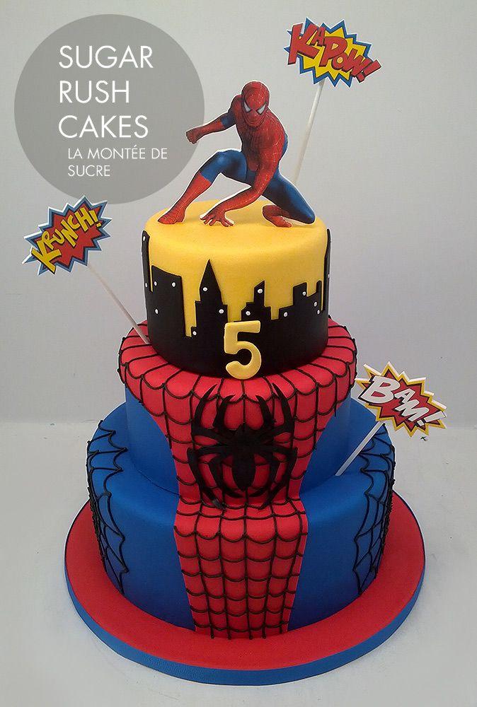 12 Spider Man Party Ideas Spiderman Birthday Cake