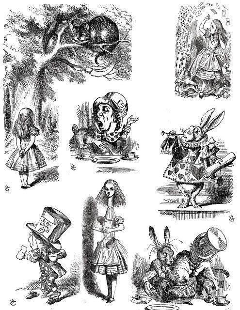 Alice in Wonderland porno kuva musta xxx kuvia