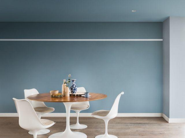 Salle a manger bleu gris dulux valentine | Appartement | Pinterest ...