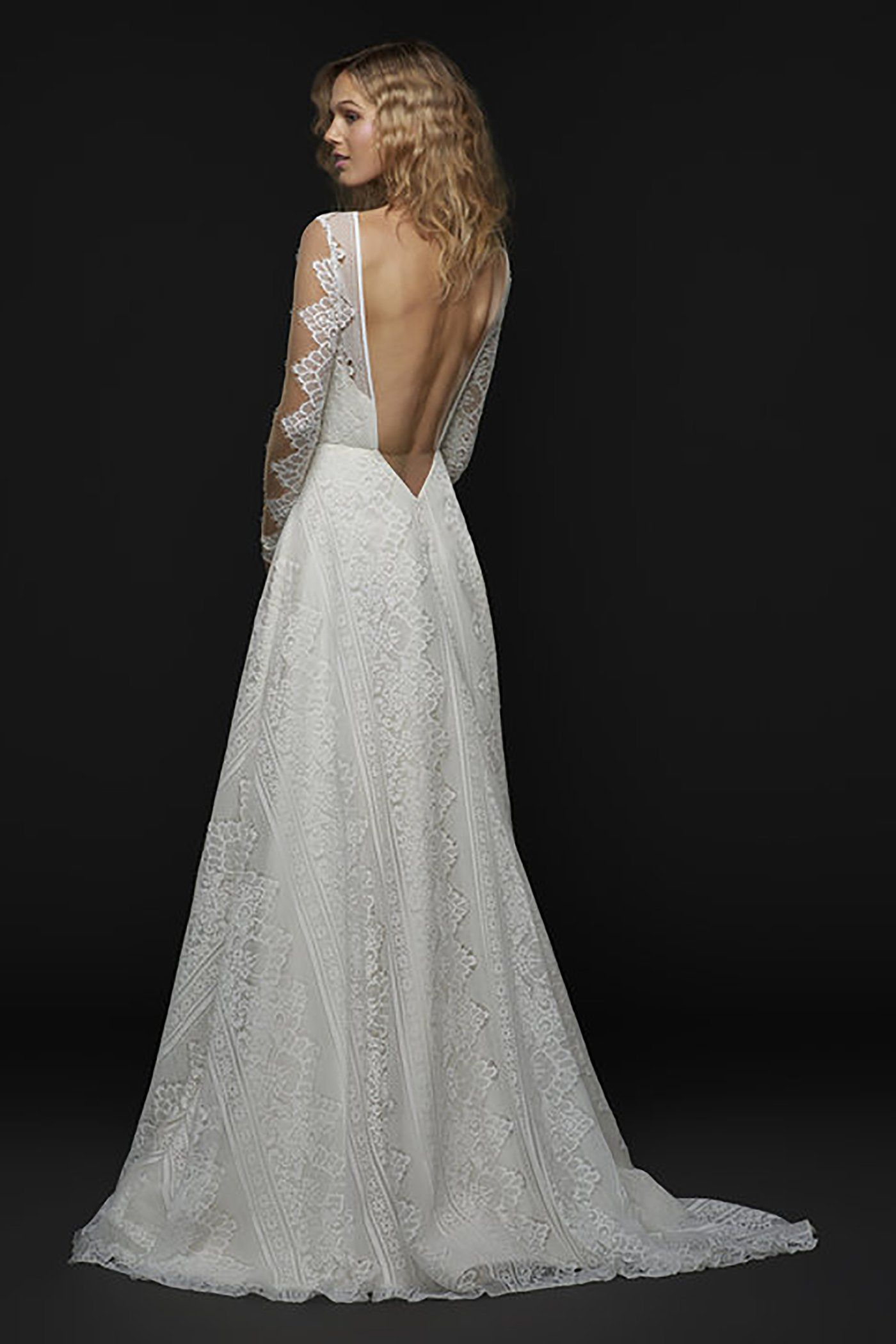 Bandit gown blush by hayley paige eternal bridal