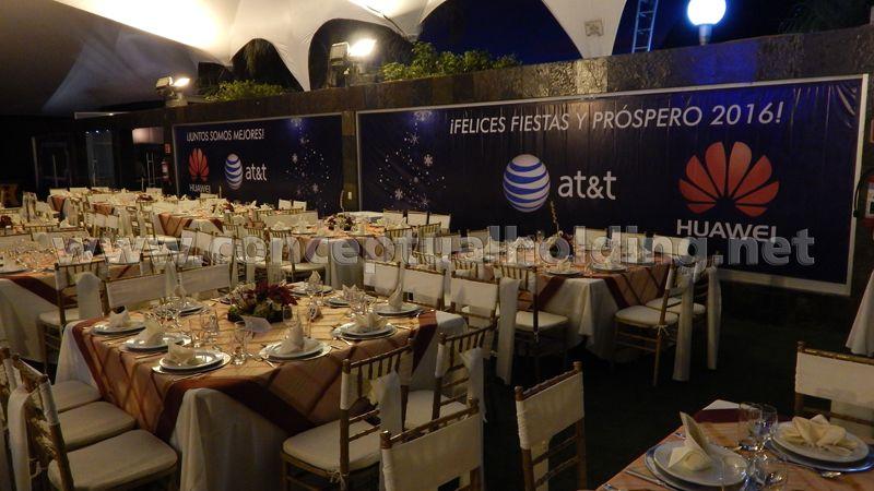 Evento De Fin De Año 2015 Huawei At T En El Salón Terrazas
