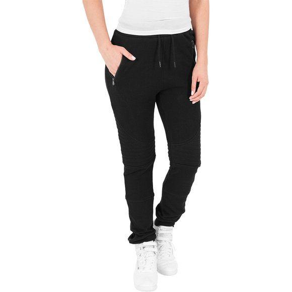 Urban Classics Ladies Stretch Biker Pants Pantalones Para Mujer Pantalones