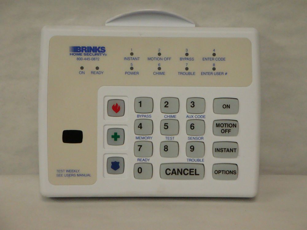 Brinks home security system battery replacement manualidades